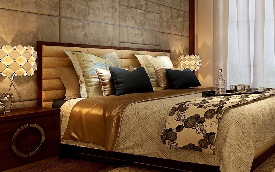 卧室图片来自湖南点石家装在保利国际新中式案例欣赏的分享