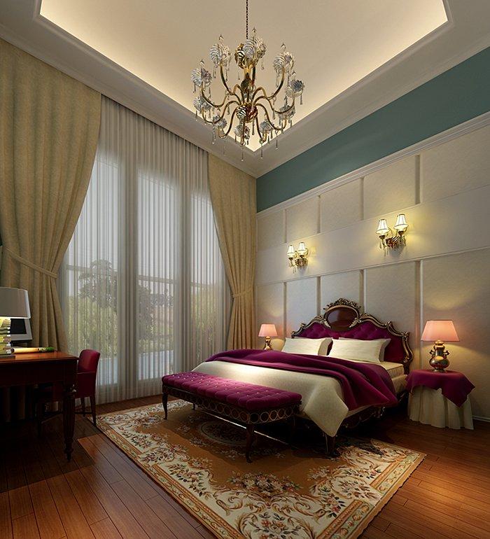 卧室图片来自宏誉装饰-Paul在170平简欧风格的分享