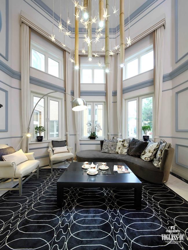客厅图片来自成都尚层别墅装饰装修公司在现代简美风格作品的分享
