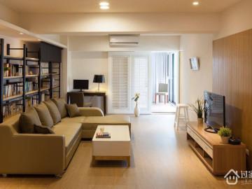 富盈中央山现代简约三居室