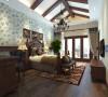 橡树澜湾别墅装修 美式风格效果