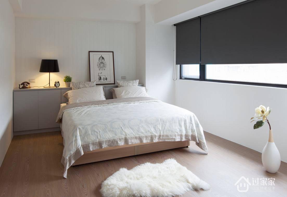 简约 三居 80后 白领 小资 卧室图片来自过家家装饰在富盈中央山现代简约三居室的分享