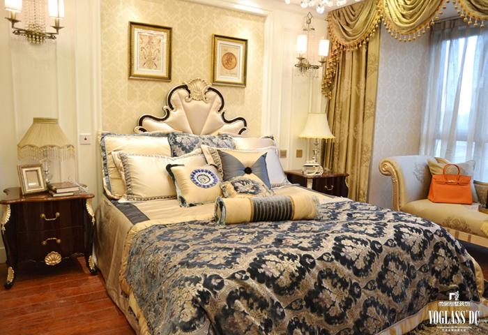 卧室图片来自成都尚层别墅装饰装修公司在欧式宫廷作品的分享