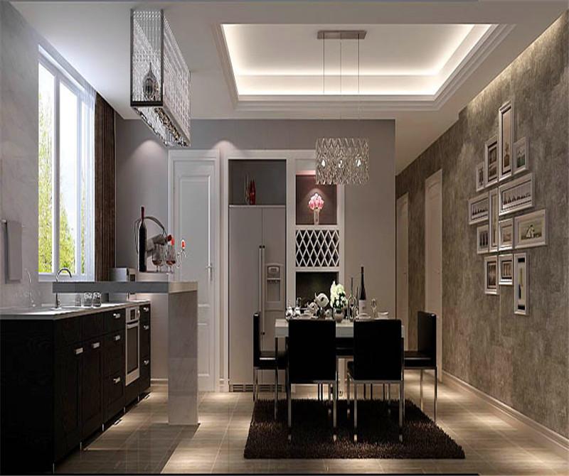 三居 现代 中年 公寓 餐厅图片来自微笑后的悲伤在蔚澜香醍170平米现代风格的分享