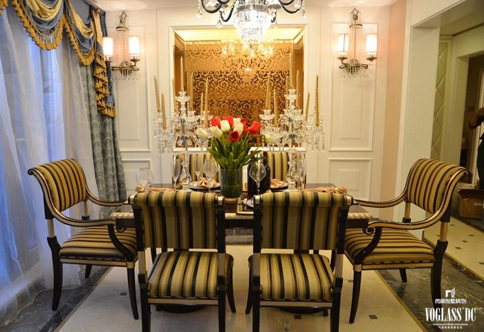 餐厅图片来自成都尚层别墅装饰装修公司在欧式宫廷作品的分享