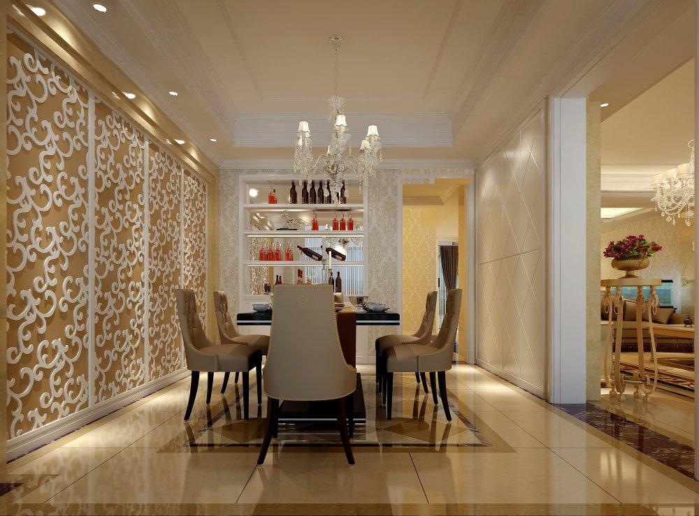 餐厅图片来自宏誉装饰-Paul在欧式别墅装修案例的分享