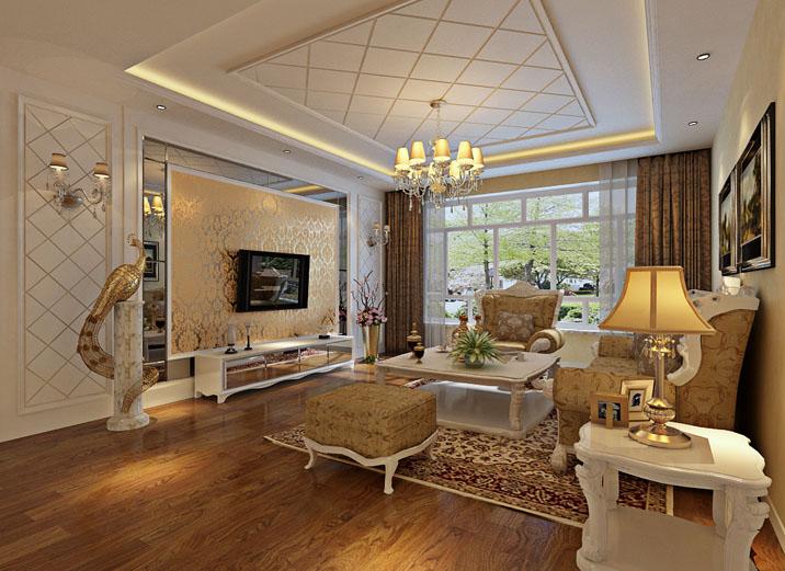 客厅图片来自实创装饰集团广州公司在欧式经典通景98平米的分享