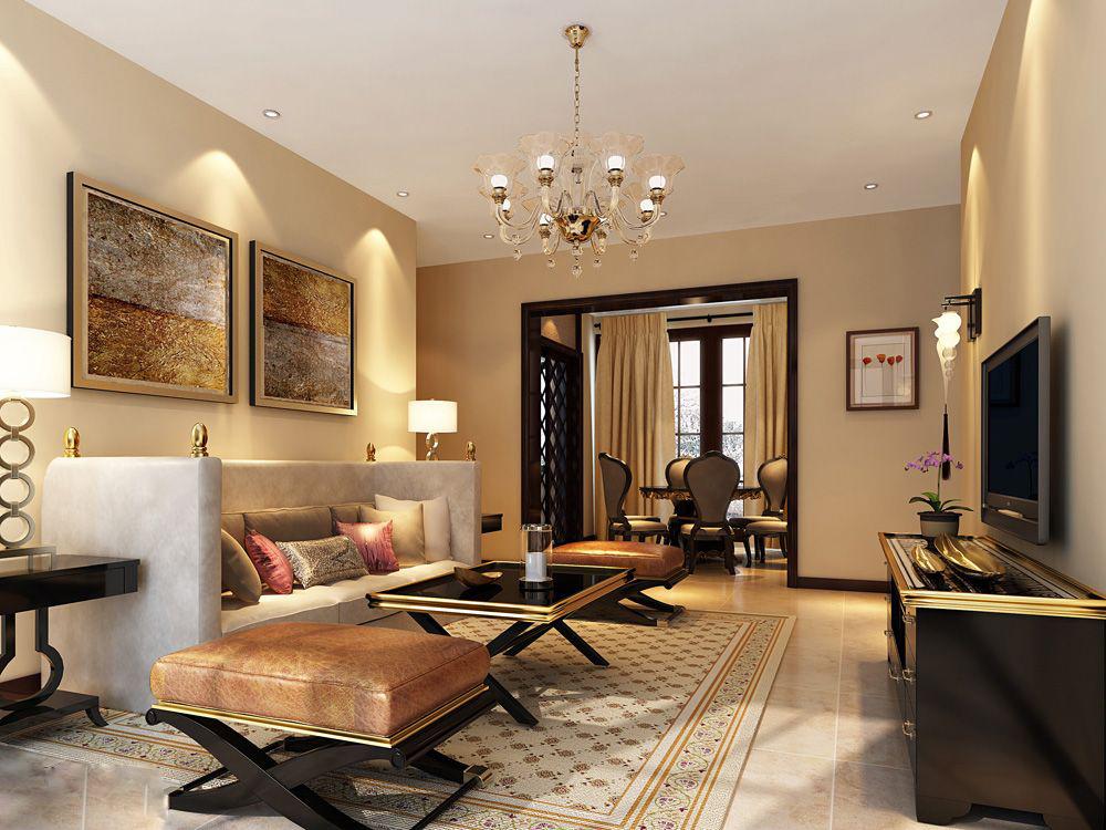 客厅 欧式图片来自四川金标装饰别墅装修设计在欧式客厅装修案例的分享