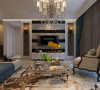 合肥生活家装饰巴黎都市105平米三居美式风格——客厅装修效果图      设计理念:人能在客厅得到关于这一个家的第一印象。这里包容着各种各样的客人,代表着家主人的热烈欢迎。