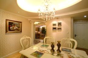 田园 温馨 居家 品质装修 餐厅图片来自成都24城装饰在鹭湖宫143平米田园风格的分享