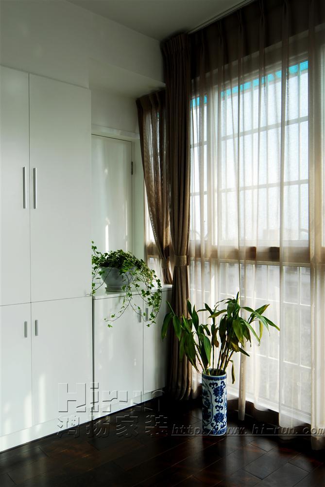阳台图片来自鸿扬家装武汉分公司在文士雅风之品味生活的分享