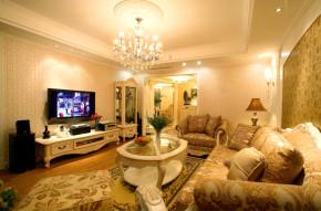 田园 温馨 居家 品质装修 客厅图片来自成都24城装饰在鹭湖宫143平米田园风格的分享