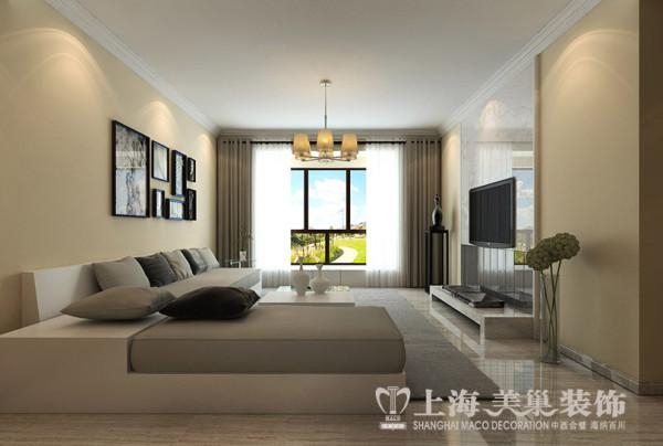 星城国际装修三居室简约时尚家居——客厅