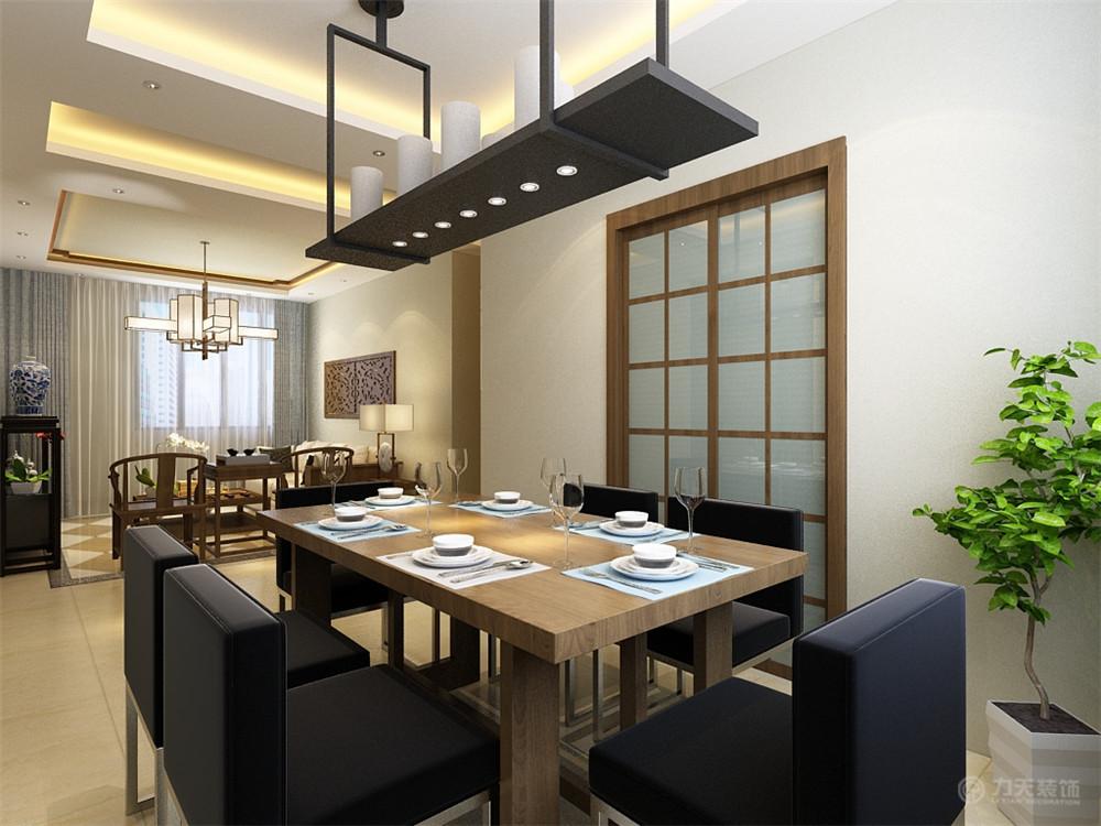 二居 小资 80后 餐厅图片来自阳光力天装饰糖宝儿在中式风格 | 金地艺境 97.61的分享