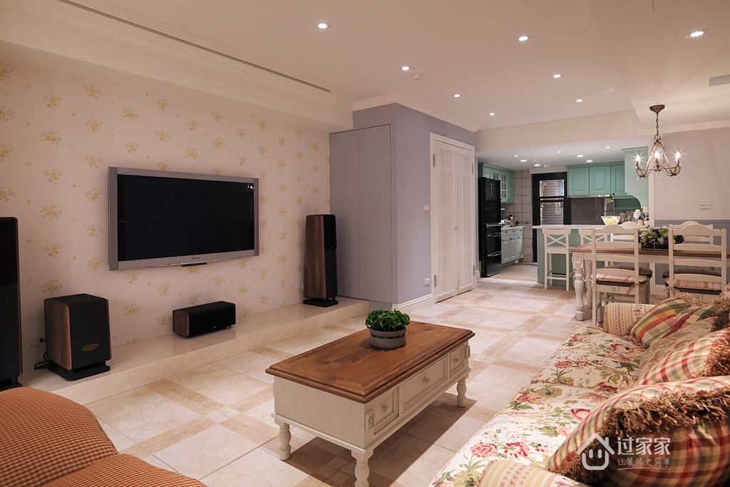 三居 小资 80后 旧房改造 白领 客厅图片来自过家家装饰在打造理想的乡村风格生活的分享