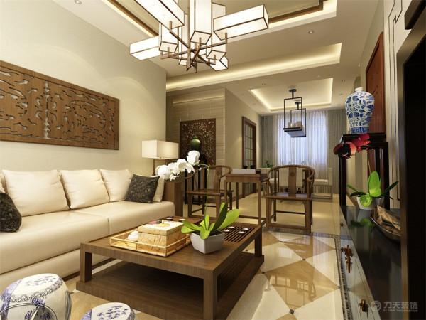 """家是心灵的港湾,本案设计为中式风格,""""中式风格""""是以宫廷建筑为代表的中国古典建筑的室内装饰设计艺术风格,气势恢弘、壮丽华贵、高空间、大进深、雕梁画柱、金碧辉煌,造型讲究对称,"""