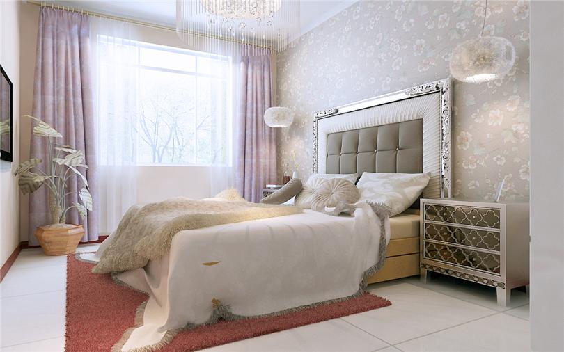 三居 白领 收纳 80后 小资 卧室图片来自实创装饰完美家装在富燕新村116平二居案例赏析的分享