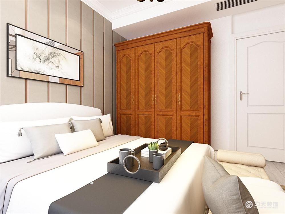 简约 二居 小资 收纳 白领 卧室图片来自阳光力天装饰糖宝儿在现代风格 | 中粮大道 65㎡的分享