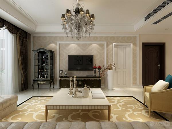 该户型欣悦花园三室两厅一厨一卫120平方米。设计的是一简欧风格的作品。