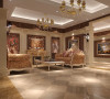 创意生活馆130平米欧式风格