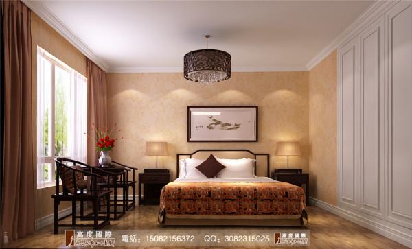 信和御龙山卧室细节效果图----高度国际装饰设计