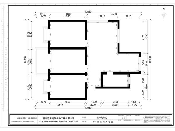 1瘦西湖新苑原始平面图