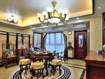 独爱中式 140平三室两厅
