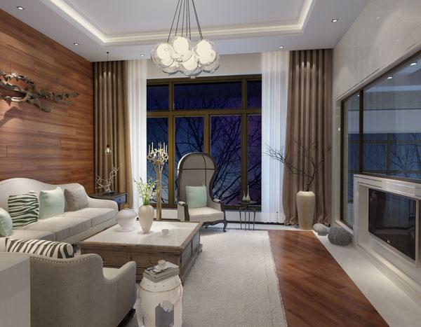 简约 现代 原创国际 墅装 全案设计 客厅图片来自原创国际别墅装饰在富力湾的分享