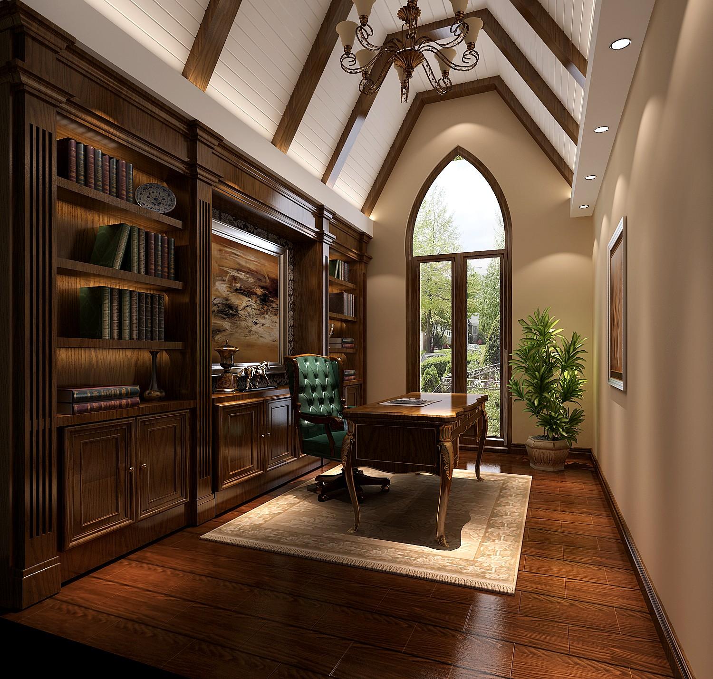 别墅 托斯卡纳 别墅设计 混搭 收纳 书房图片来自say简单在欧郡香水城托斯卡纳风的分享