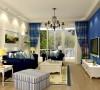 K2玉兰湾地中海风格-客厅