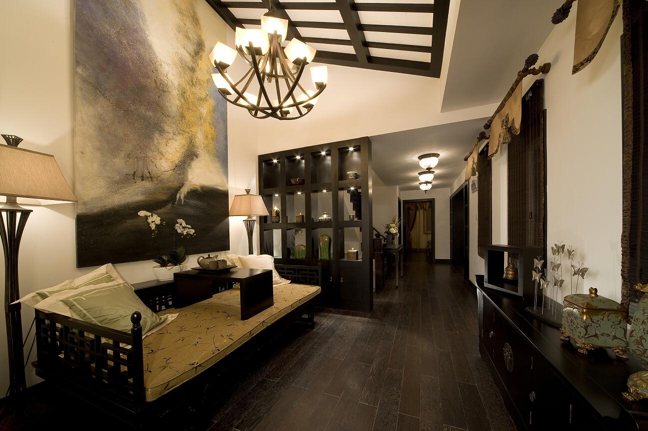 三居 白领 收纳 80后 小资 温馨 客厅图片来自合肥生活家在天下锦城三居中式风格的分享