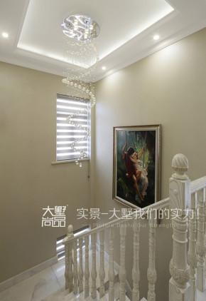 简欧 复式 温馨 浪漫 楼梯图片来自大墅尚品-由伟壮设计在我爱我家·温馨养眼的简欧式浪漫的分享