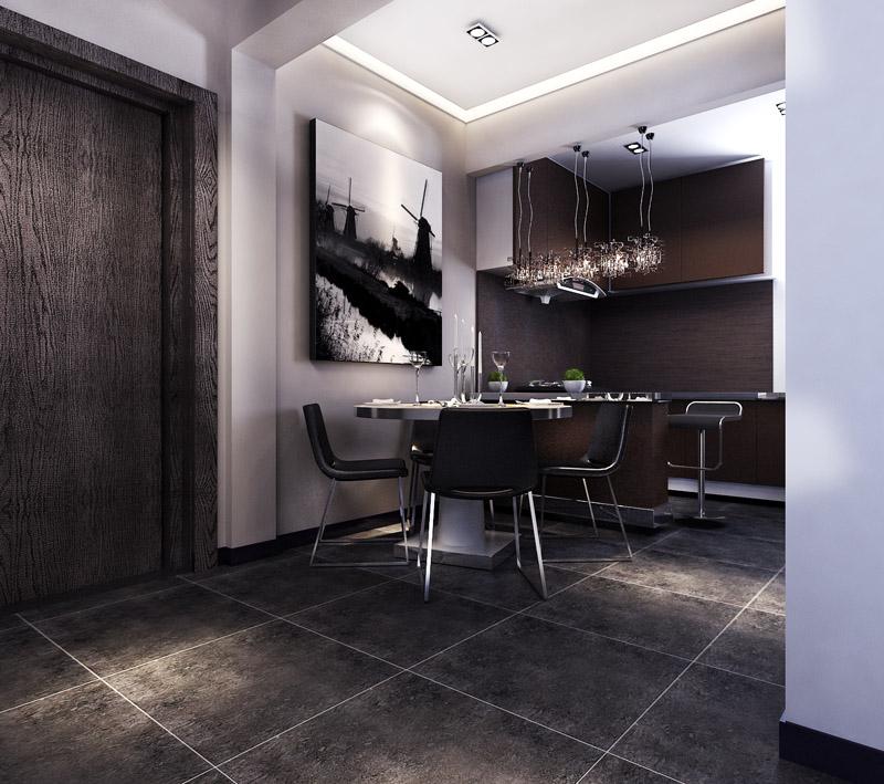 升龙又一城 两居 工业风格 装修 餐厅图片来自夏曼在升龙又一城 两居 工业风格装修的分享