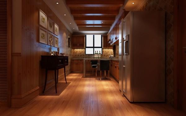 龙源世纪家园 209平大宅别墅 装修设计案例 欧式风格 装修效果图-书房