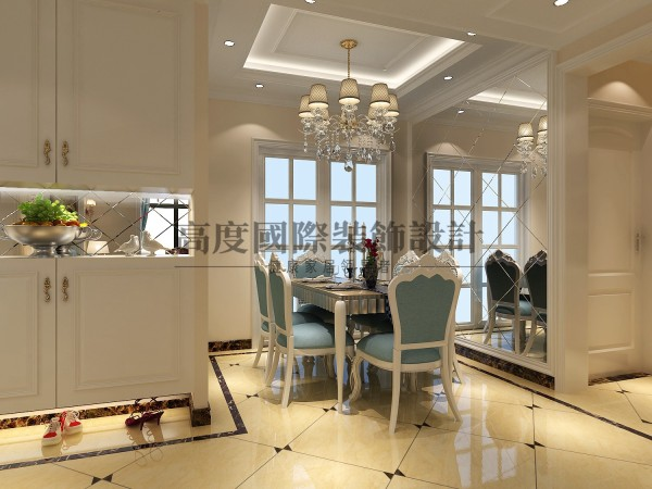 成都高度国际装饰设计 汇锦城装修案例