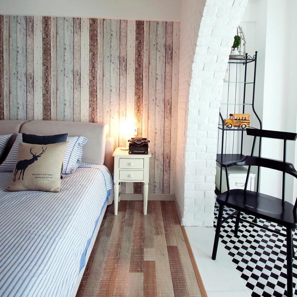 嘉年华装饰 复试 北欧 橡树湾 136平 卧室图片来自武汉嘉年华装饰在清新北欧复式装修效果图的分享