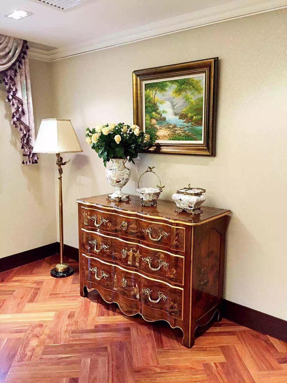 法式 原创国际 别墅设计 品质墅装 全案 玄关图片来自原创国际别墅装饰在公园1872的分享