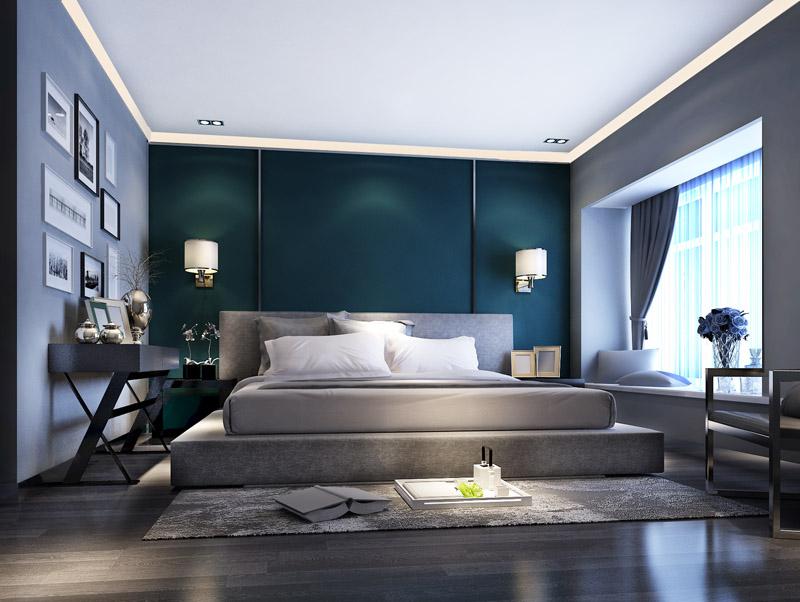 升龙又一城 两居 工业风格 装修 卧室图片来自夏曼在升龙又一城 两居 工业风格装修的分享