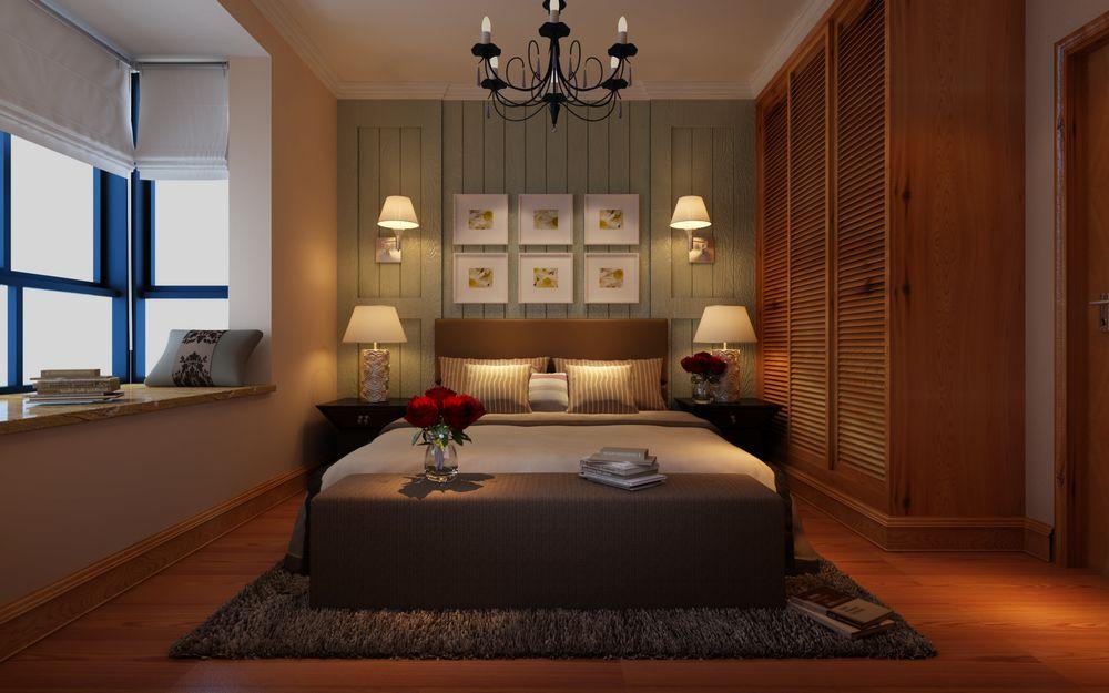 世纪家园 别墅 欧式 装修 卧室图片来自张樂在龙源世纪家园 大宅别墅 欧式风格的分享