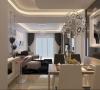 线条简洁的家具、金属门框、玻璃元素、高纯度色彩等手法的运用在打造实用简约风格的同时充分体现了现代风格的时尚感和个性化。