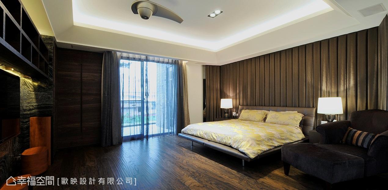 前卫 奢华 别墅 收纳 卧室图片来自幸福空间在660平绿意鸟语x前卫奢华的分享