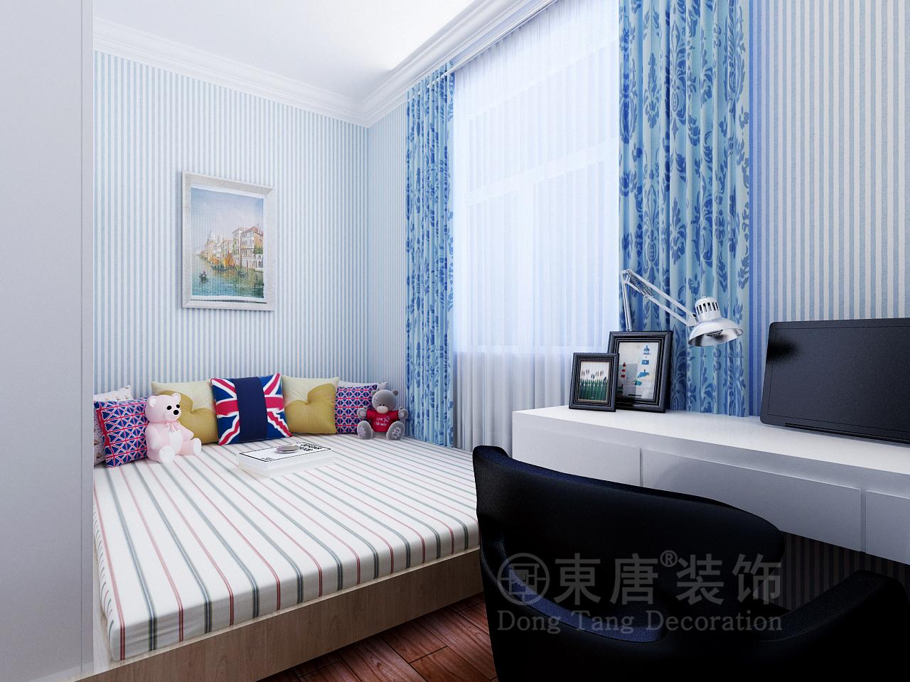 欧式 三居 收纳 80后 卧室图片来自山西东唐装饰公司在阳光汾河湾142平米简欧风格的分享