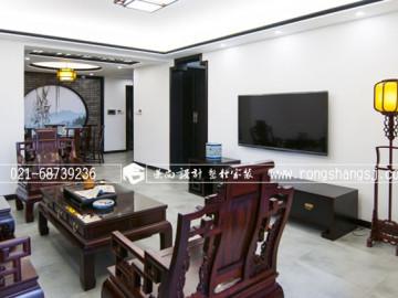 黛瓦白墙,120平传统中式三居