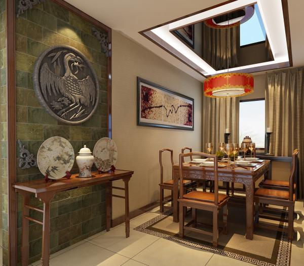 餐厅的设计将中国古典元素与现代的设计相融合,搭配以精美的瓷器和中国红吊灯,体现了浓浓的中国情,更营造了舒适的就餐环境。