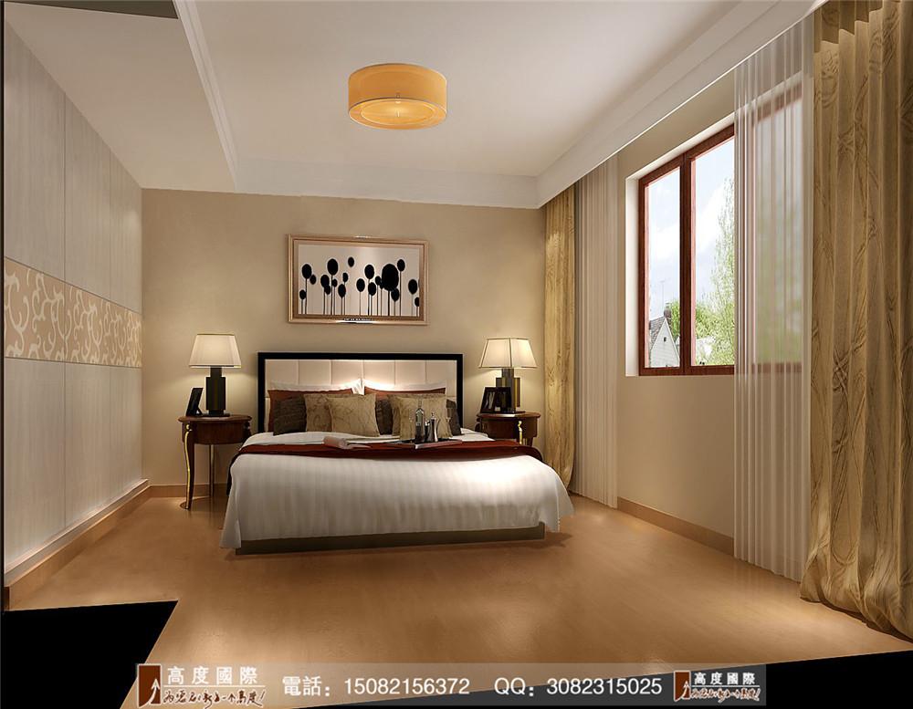 高度国际 成都装修 新房装修 别墅装饰 高端别墅 卧室图片来自成都高端别墅装修瑞瑞在欧式简约-----高度国际装饰设计的分享