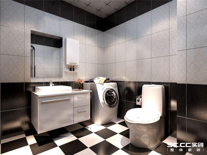 简约 二居 韶光花园 卫生间图片来自实创装饰上海公司在韶光花园现代简约风格家居设计的分享