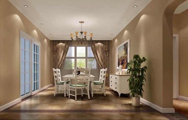 二居 公寓 托斯卡纳 餐厅图片来自高度国际装饰宋增会在纳帕澜郡115平米托斯卡纳的分享