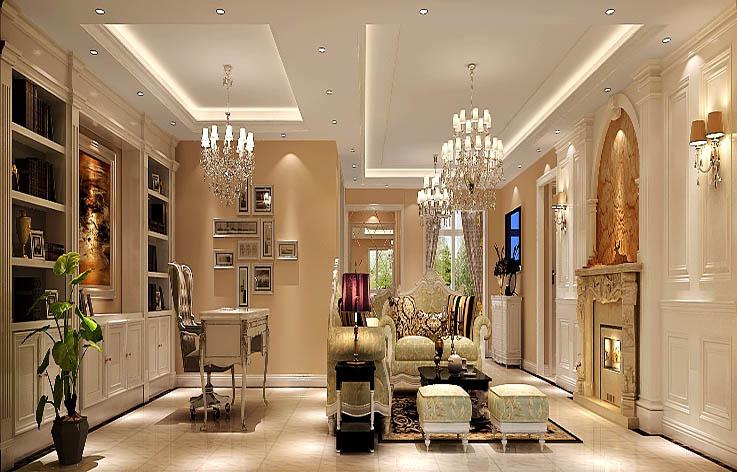 五居 简约 欧式 公寓 客厅图片来自高度国际装饰宋增会在金色漫香苑188平米简约欧式的分享