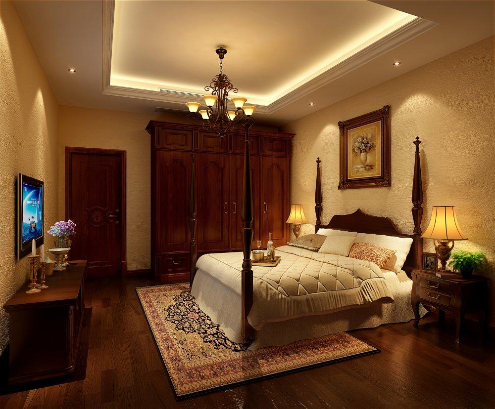 卧室图片来自宏誉装饰-Paul在龙湖长桥郡 欧式风格的分享