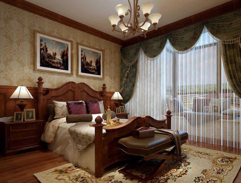 卧室图片来自宏誉装饰-Paul在中海九号公馆 欧式风格的分享